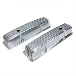 Block And Beam Floor Prices >> Vintage Tall Finned Valve Covers with Breather Holes - Small Block Chevy « Vintage Parts